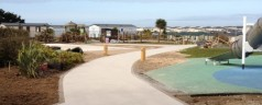 Riviere Sands Holiday Park new resin bound Paths