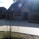 DRIVEWAY BEFORE and AFTER resin bound paving