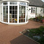 Driveway alternative resin bound paving drive in South Newton Salisbury Wiltshire