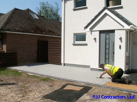 Sterling Silver driveway makeover in Sandford Poole Dorset