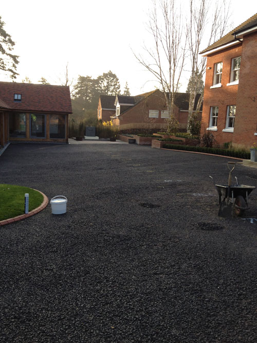Salisbury UK new resin bound paving driveway resurfacing