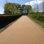 Surrey driveway in resin bound paving alternative driveway surface material