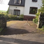 Driveway in Wales gets a resin bound paving new drive surface by approved PJJ Contractors